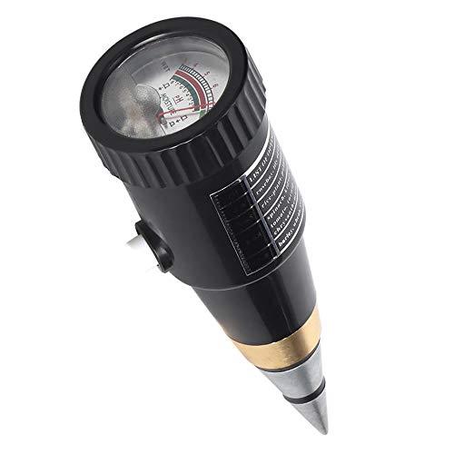 Mumusuki Kegel Boden Tester Hygrometer Feuchtigkeitstest Meter Feuchtigkeitsmessger/ät PH Detektor Instrument F/ür Gartenpflanze
