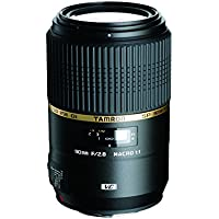 Tamron AFF004C700 SP 90MM F/2.8 DI MACRO 1:1 VC Macro Lens for Canon EF Cameras