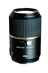 Tamron AFF004S700 SP 90MM F/2.8 DI Macro Lens for Sony Alpha Camera - Fixed