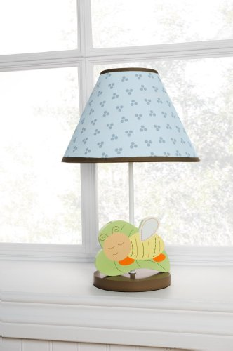 Kidsline Basket - Kids Line Base and Shade, Night Night Bugs (Discontinued by Manufacturer)
