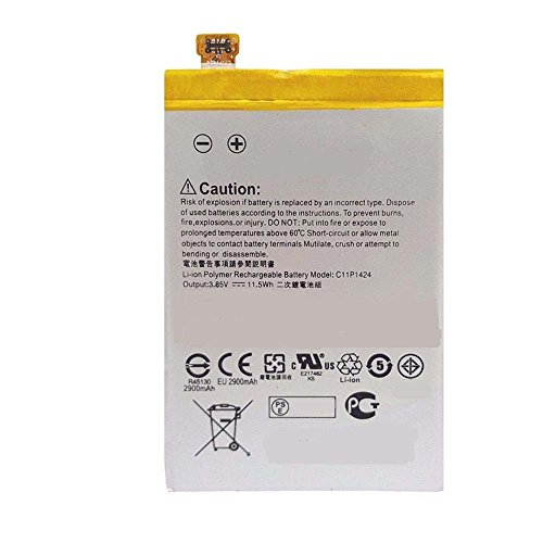 Powerforlaptop Replacement Phone C11P1424 Battery For Asus Zenfone 2 Deluxe, ZE551ML, ZE550ML, ZenFone Go,ZenFone Go Dual SIM, ZB552KL, ZenFone Go Dual SIM TD-LTE