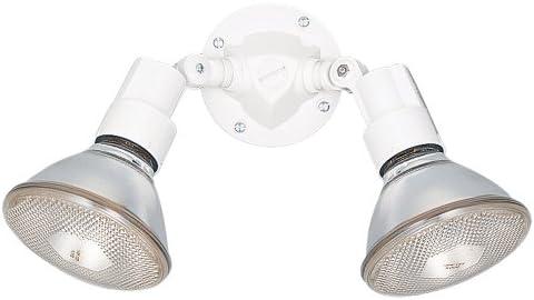 Sea Gull Lighting 8642-15 Adjustable Swivel Flood Light, White