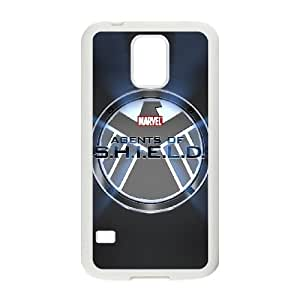 SamSung Galaxy S5 phone cases White S.H.I.E.L.D cell phone cases Beautiful gifts JUW80996153