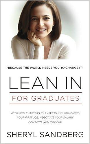 Lean In: For Graduates: Amazon co uk: Sheryl Sandberg
