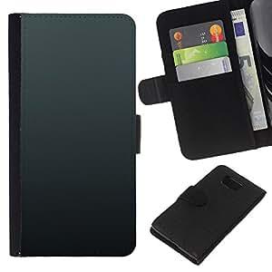 All Phone Most Case / Oferta Especial Cáscara Funda de cuero Monedero Cubierta de proteccion Caso / Wallet Case for Samsung ALPHA G850 // Simple Gray 3
