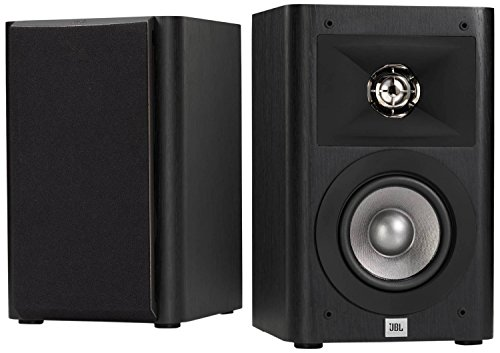 - JBL Studio 220 4-Inch 2-Way Bookshelf Loudspeaker (2)