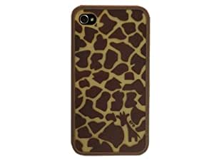 Fashion Fancy Luxury Cartoon Cute PC Case Cover for iPhone 4 4S Coffee