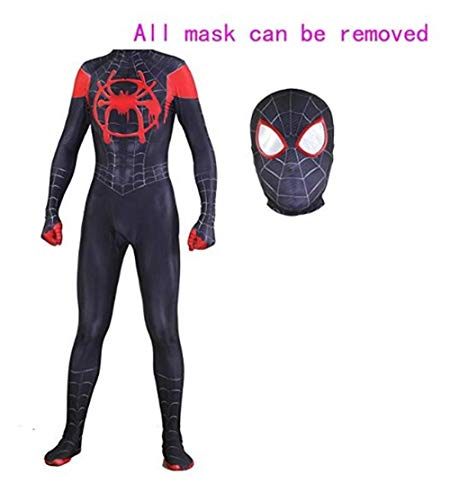 Superhero Zentai Bodysuit Halloween Christmas Cosplay Costumes Adult/Kids (Adult-XXL((Height 175-180cm), Costume and Mask) ()