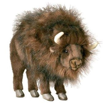 (Life Size Ride-On Standing American Buffalo Stuffed)