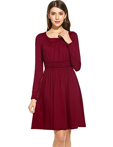 ANGVNS Womens Sleeve Casual Loose