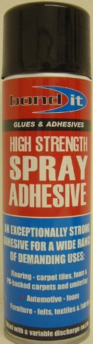 HIGH STRENGTH SPRAY ADHESIVE GLUE WITH VARIABLE NOZZLE Bond It