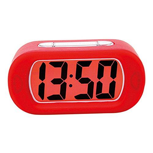 Ieasycan LED Digital Clock Repeating Snooze Alarm Clock Light-activated Sensor