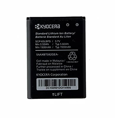 OEM Kyocera Standard Replacement Battery DuraXV E4520 DuraXA E4510 - SCP-63LBPS (Certified Refurbished)