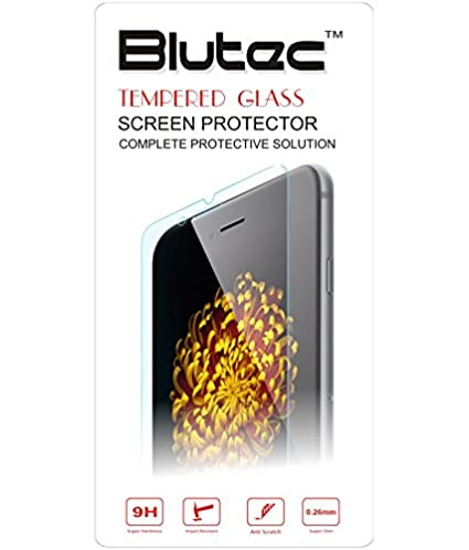 Blutec Tempered Glass Screen Protector For Samsung Galaxy Note 2 N7100