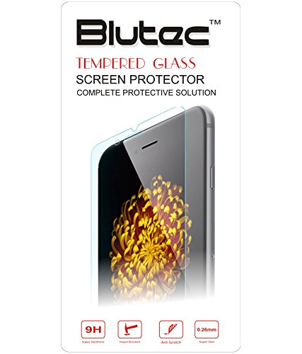 Blutec Tempered Glass Screen Protector for Samsung Galaxy Note 4