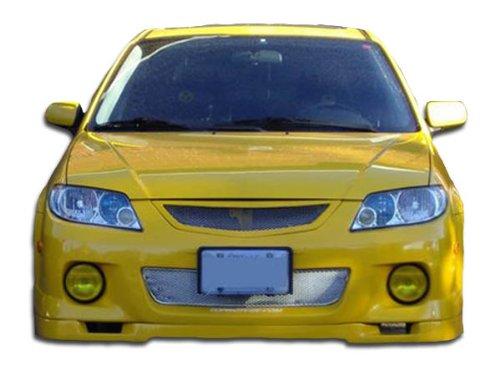 Duraflex ED-NDK-919 Speedzone Front Lip Under Spoiler Air Dam - 1 Piece Body Kit - Compatible For Mazda Protege 2001-2003