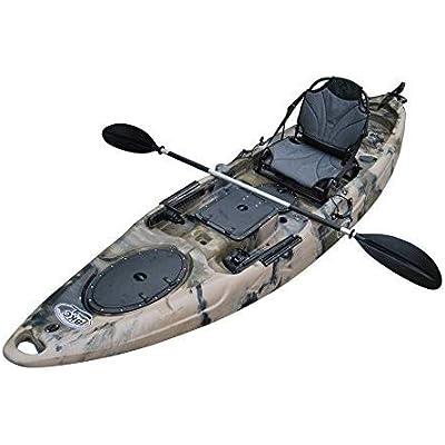 BKC RA220 Single Sit On Top Angling Kayak