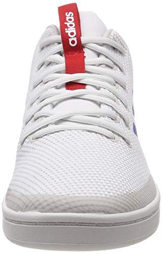 de 0 Footwear Scarlet Blue adidas Hombre para Baloncesto White Blanco Zapatillas Bball80s OwPqERB