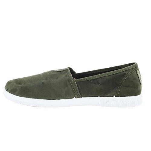 World Zapatillas Green Natural Mujer Para awqdP51dx