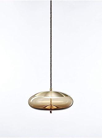 Postmoderno Luminaria de lujo Lámpara colgante de cristal ...