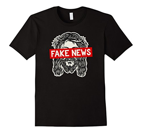 Atheist, Anti Religion T-Shirt: Religion is Fake News ()