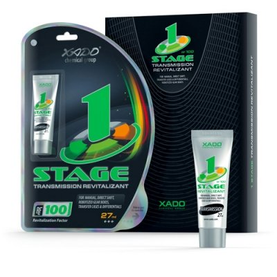 XADO cambio olio additivo 1Stage con revitalizant® per cambio manuale meccanica dell' ingranaggio getriebeoel supplementare per la riparazione e l' usura della protezione