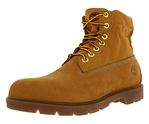 Timberland Men's Basic Single Roll Top Ankle Boot, Wheat Nubuck/Cordura, 11 Medium (Timberland Men Footwear Ankle Boots)