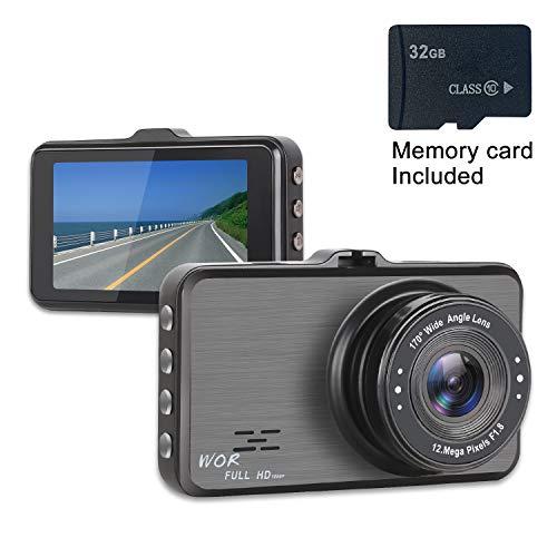 Dash Cam 1080P Car