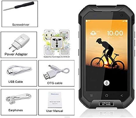 Teléfono Rugerizado, Blackview BV6000s, IP68, Movil Todoterreno ...