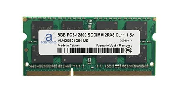 Adamanta 8GB (1x8GB) Laptop Memory Upgrade for HP EliteBook