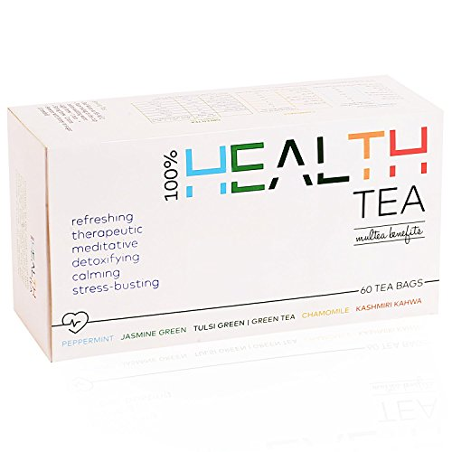 Save on Goodwyn Health Green Tea Box, 6 Green Teas for Different Times & Moods of The Day, 60 Tea Bags and more