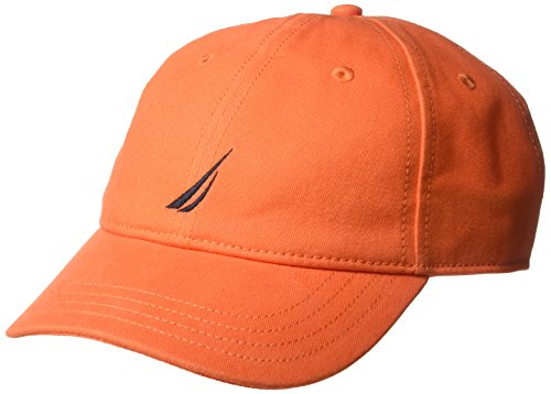 c Logo Adjustable Baseball Cap Hat, Spicy Orange, One Size ()