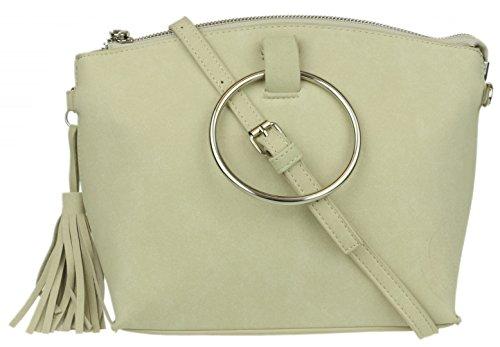 l'épaule à femme Girly pour Sac à Handbags porter Beige nRw46U