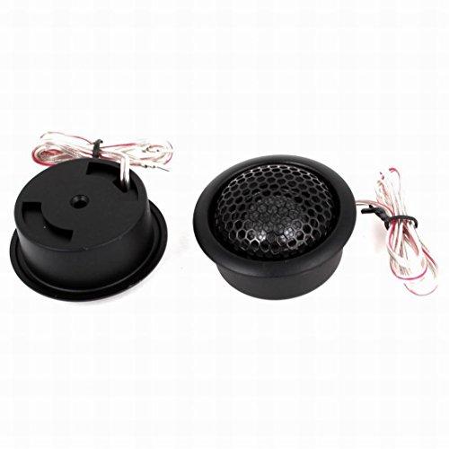 300 Watt Dome Tweeters - Uptell 2 Pcs Black 300W 60mm Dia Dome Tweeters Music Speaker for Car Auto