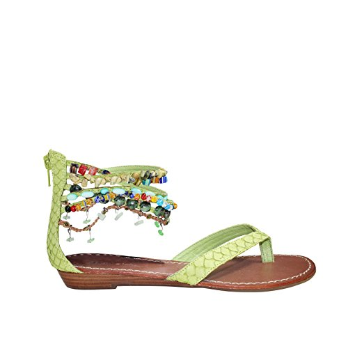 Zigi Girl - Zigi Girl Womens Must Have 10 Sandal Lime Green 8 1/2
