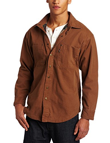 Key Apparel Men's Big-Tall Flannel Lined Duck Shirt/Jacke...