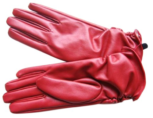 Simplicity Ladys Insulating Leather Gloves