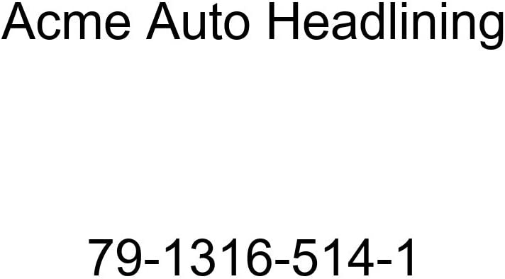 Acme Auto Headlining 79-1316-514-1 Light Green Replacement Headliner 1979 Cadillac Fleetwood 4 Door Limousine