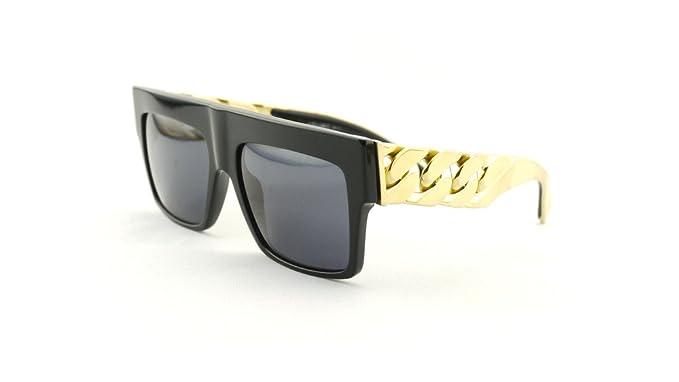 Unisex Cadena de Oro Gafas de sol Gafas de sol Celine las ...