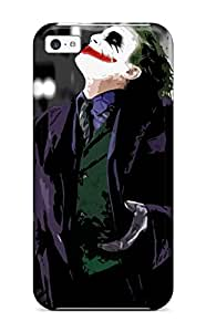 Andrew Cardin's Shop New Style Awesome Design The Joker Hard Case Cover For Iphone 5c