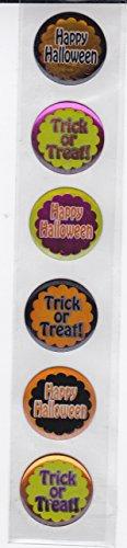 3d Sticker Strip - Halloween - Halloween Rounds -