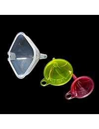 Take 1 set 3 Different Sizes Funnels Kitchen Tools Spill Saver Bottle Jar Pourer saleoff