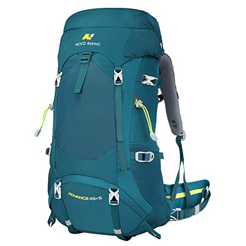 NEVO RHINO 50L Internal Frame Backpack,Ultralight waterproof Daypack for Hiking, Camping