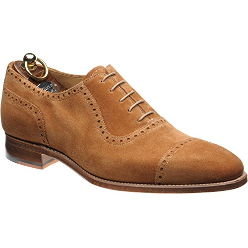 Herring 136846661 - Zapatos de Cordones de Ante Para Hombre Marrón Polo Suede