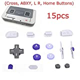 FidgetFidget Full Set Buttons Keys (Cross,ABXY, L R,Home Buttons) for 3DS XL/LL SNES
