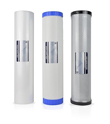 APEX RF-3020 Whole House Water Filtration System Replacement Filter Cartridge Pack by Apex
