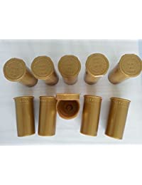 Get 25 Pack GOLD - 30 Dram Pop Top Medical Bottles- Top Shelf Herb Pill Containers compare