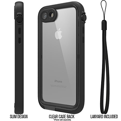 Catalyst Water Proof Shock Resistant Case for Apple iPhone 7 (Stealth Black) by Catalyst (Image #4)