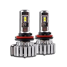 NIGHTEYE H11 LED Headlight Bulbs - 6000K Cool White 70W 9000LM - 3 Year Warranty