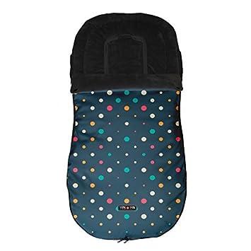 Tris&Ton Saco silla de paseo universal para bebe, saco funda cochecito con forro polar impermeable